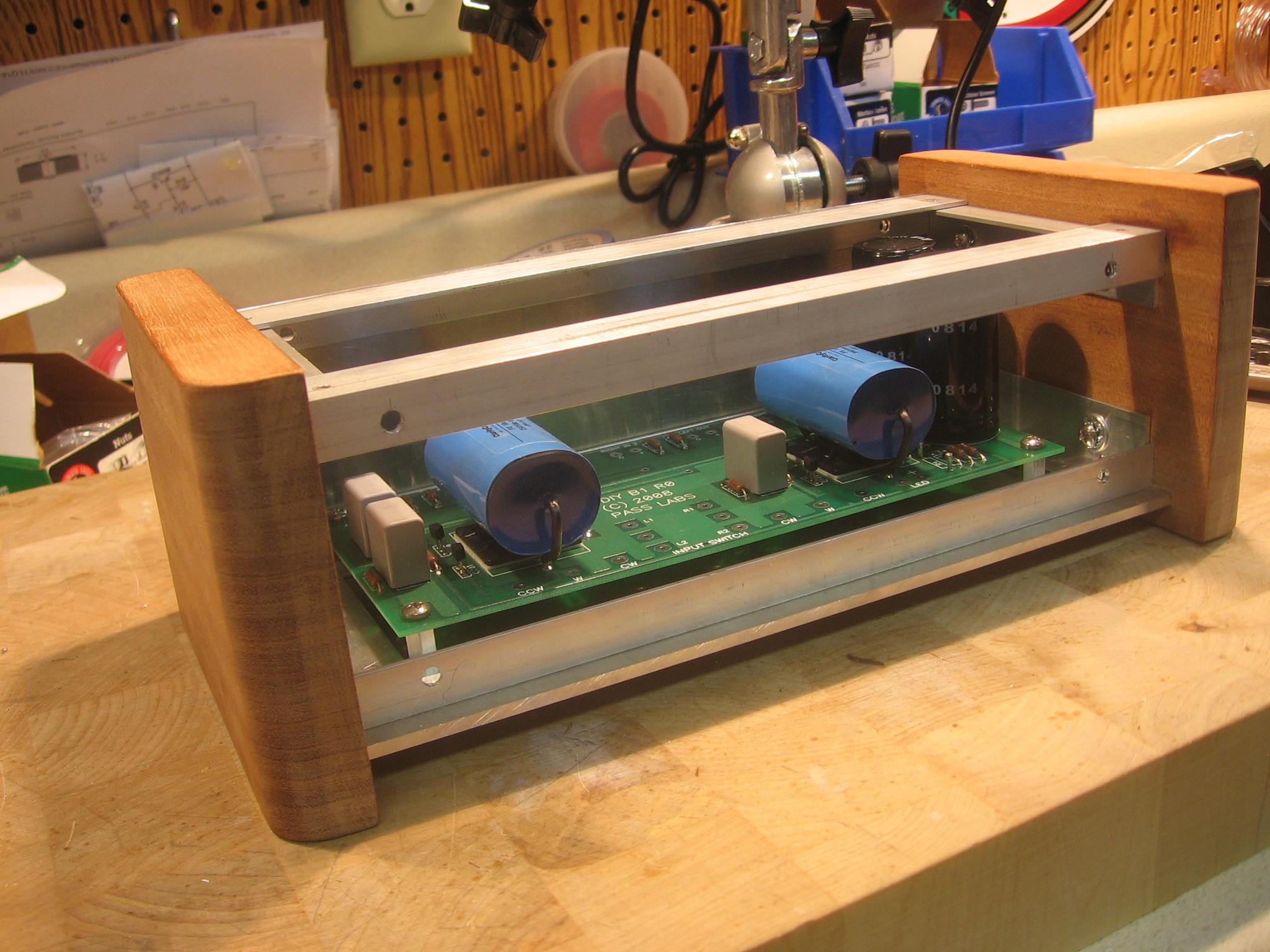 B1 Buffer Preamp – solderworksaudio